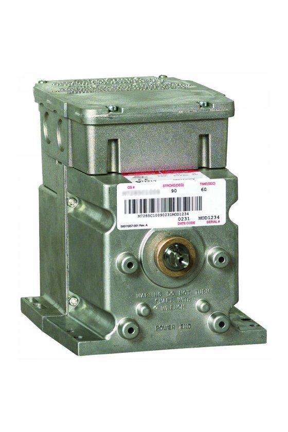M6285C1001-S   motor modultrol 60 lb-in,sr , flotante con retroalimentación no lineal, 2 aux. interruptores, 24 v
