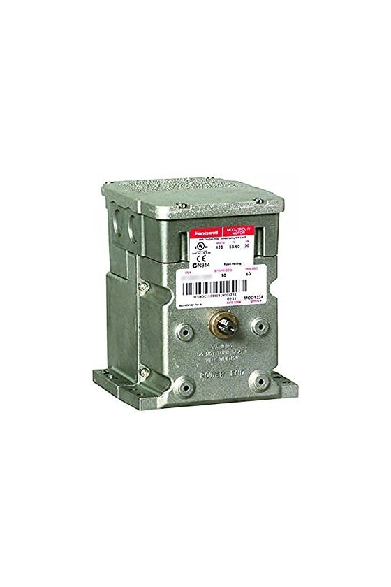 M9184B1017 motor modultrol 150 lb-in, actuador nsr, control de proporcionalidad, 1 aux. interruptor, 24 v