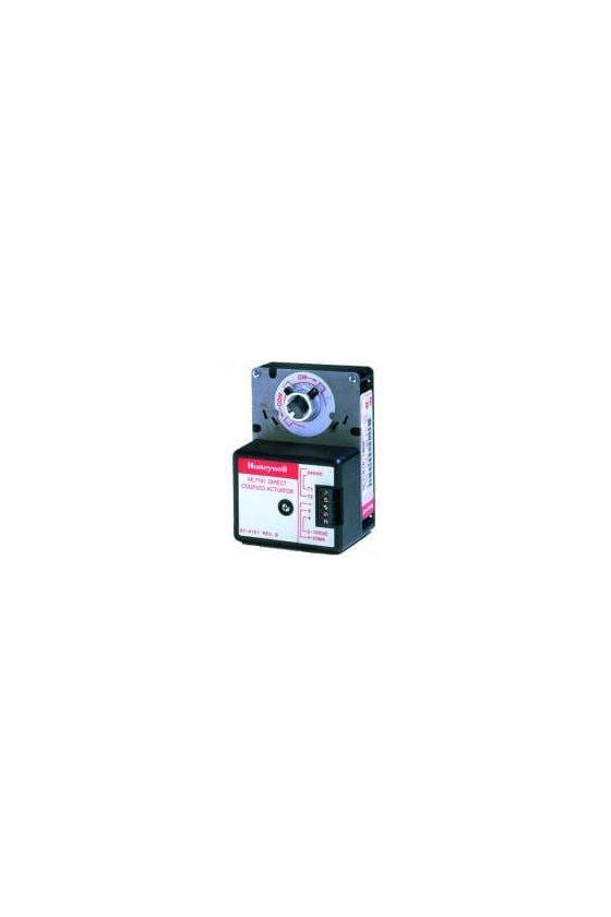 ML7161A2008/C   actuador de 2-10 v cc, 4-20 ma con retorno de 35 lb sin resorte y 24 v ca