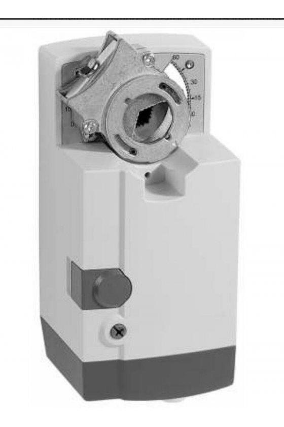 MN7220A2205 actuador damper  (0) 2-10 vcc, (0) actuador de 4-20 ma con 175 lb-in y retorno sin resorte