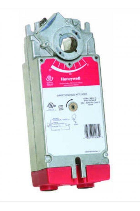 MS7520A2205  honeywell flotante o (0) 2-10 vdc 175 lb-in., retorno de resorte de 20 nm, actuador de acoplamiento directo