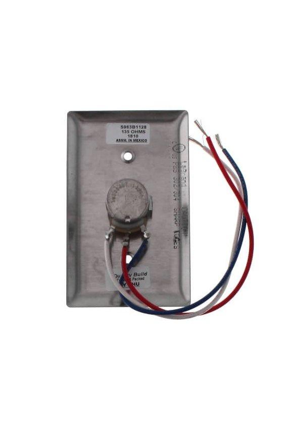 S963B1128  potenciómetro manual (135 ohmios)