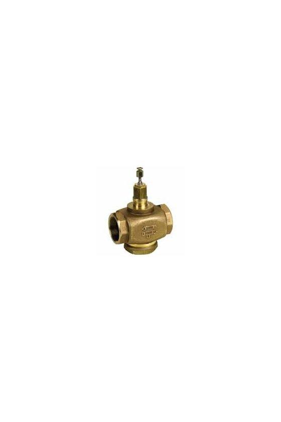 V5011N1008  1/2 en 2 vías f-npt válvula de globo de 2 vías 0.73 cv, agua o glicol o vapor