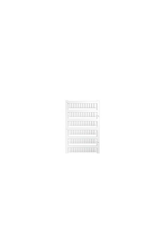 163500000 WS, Terminal marker, 10 x 5 mm, Paso en mm (P): 5.00 Weidmueller, Allen-Bradley, blanco STFA EG3