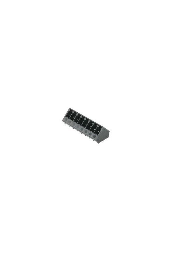 1977200000 Conector para placa c.i., Conector macho, cerrado lateralmente, SC-SMT 3.81/02/135G 3.2SN BK BX