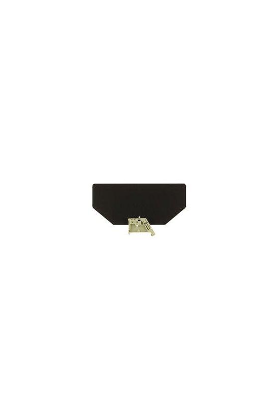 205300000 Serie SAK, Tapa final, marrón oscuro, 2 mm, EP 2 SAKG46/32 HP/DBR
