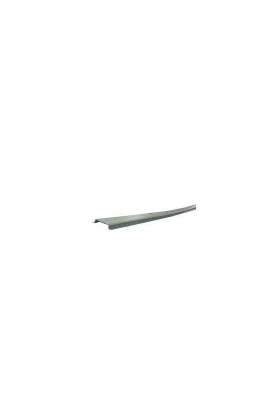 0383400000CM carril sin coliso, Acero, chapado en zinc galvanizado y pasivado, TS 35X7.5 2M STEEL SOLID