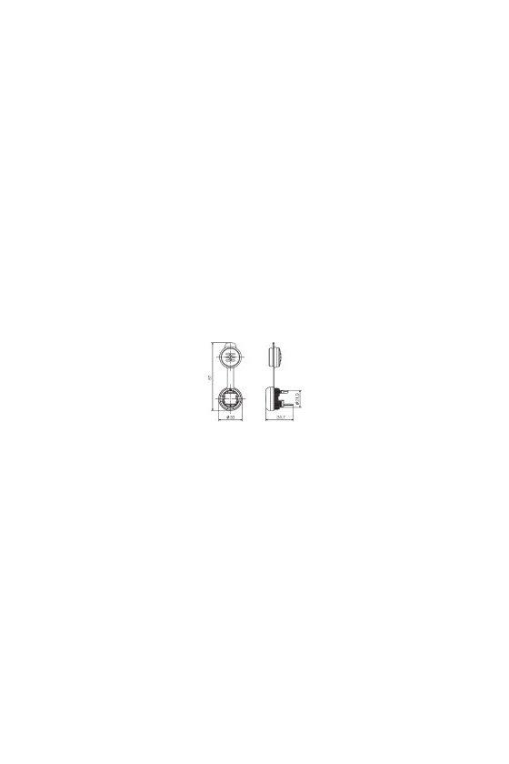 1018790000 FrontCom Micro acoplamiento RJ45, IE-FCM-RJ45-C