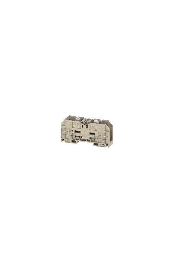1028500000 Bornes de tornillo, Borne de paso, Sección nominal: 120 mm², Conexión de espárrago, Montaje directo, WFF 120