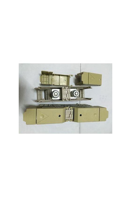 1029400000 Borne de paso, Sección nominal: 70 mm², Conexión de espárrago, Montaje directo, WFF 70/AH