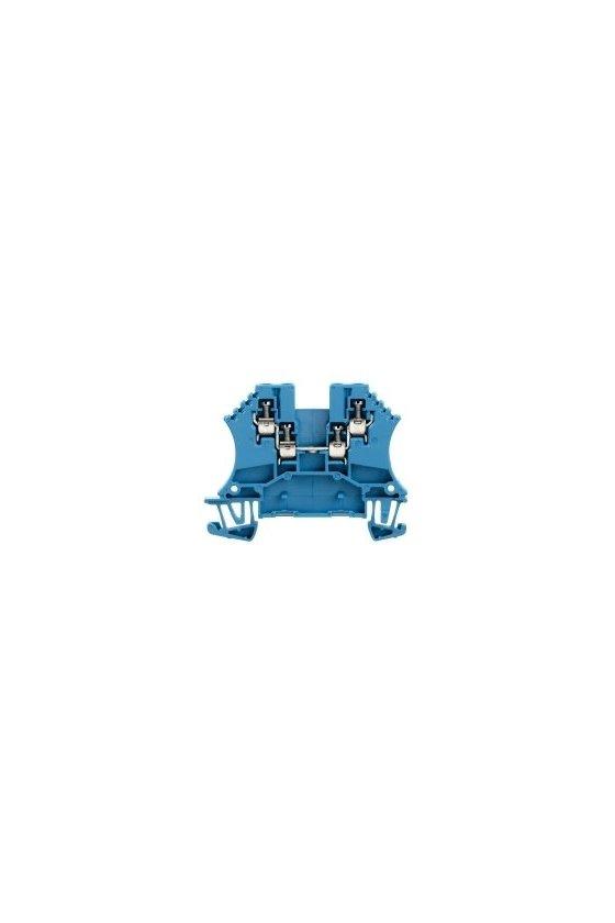 1031480000 Borne de paso, Conexión brida-tornillo, 1.5 mm², 800 V, 17.5 A, azul, WDU 1.5/ZZ BL