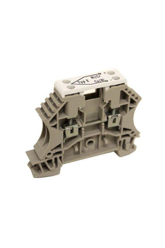 1033300000 Serie W, Borne de paso, Termopar, Sección nominal: 2.5 mm², Conexión brida-tornillo, WDU 2.5 TC TIPO E