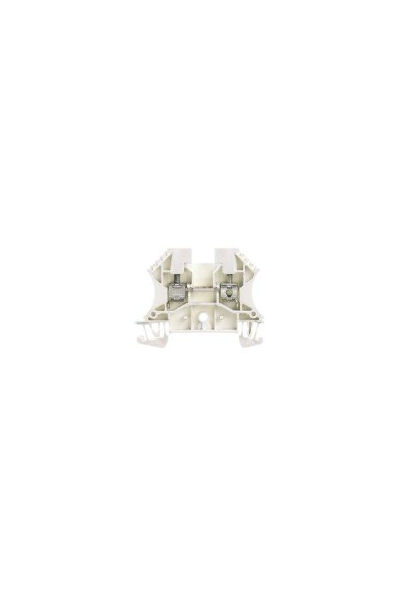 1036700000 Borne de paso, Conexión brida-tornillo, 4 mm², 800 V, 32 A, blanco, WDU 4 WS