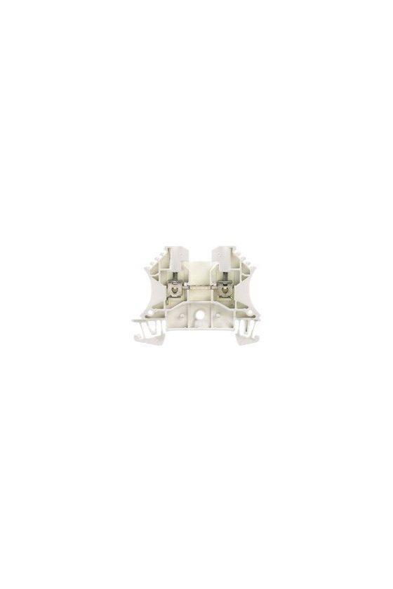 1036800000 Borne de paso, Conexión brida-tornillo, 2.5 mm², 800 V, 24 A, blanco, WDU 2.5 WS