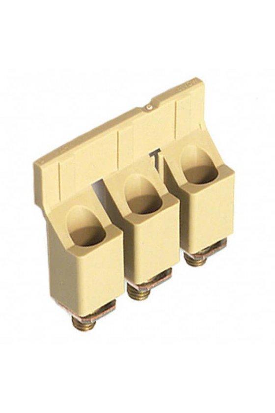 1055160000 Serie W, Conexión transversal, para bornes, Número de polos: 3, WQV 16/3 FOR WDU 16,3 POLE
