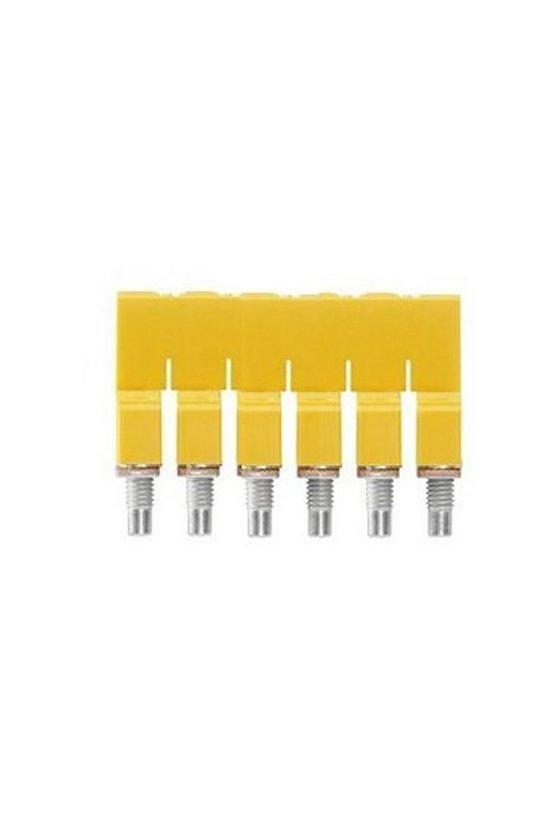 1057160000 Serie W, Conexión transversal, para bornes, Número de polos: 6, WQV 4/6