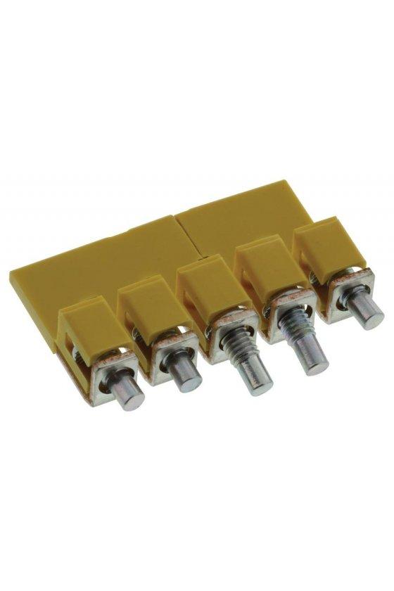 1057860000 Serie W, Conexión transversal, para bornes, Número de polos: 5, WQV 4/5