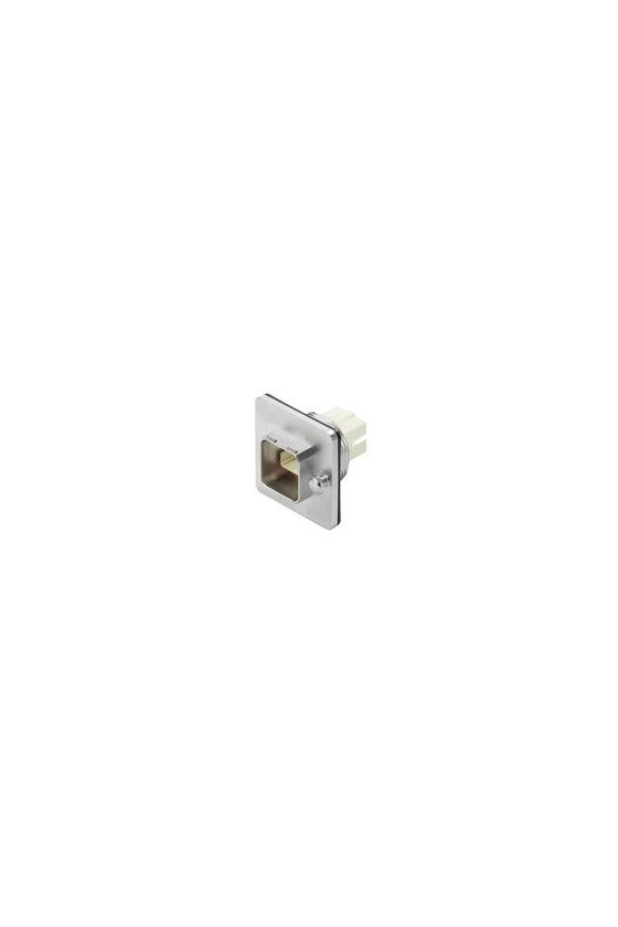 1062590000 Brida para fibra óptica, IP67, atornillado central, acoplamiento SCRJ Duplex, Multimodo, IE-BSC-V14M-SCRJ-MM-C