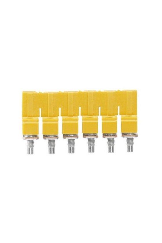 1062670000 Serie W, Conexión transversal, para bornes, Número de polos: 6, WQV 6/6