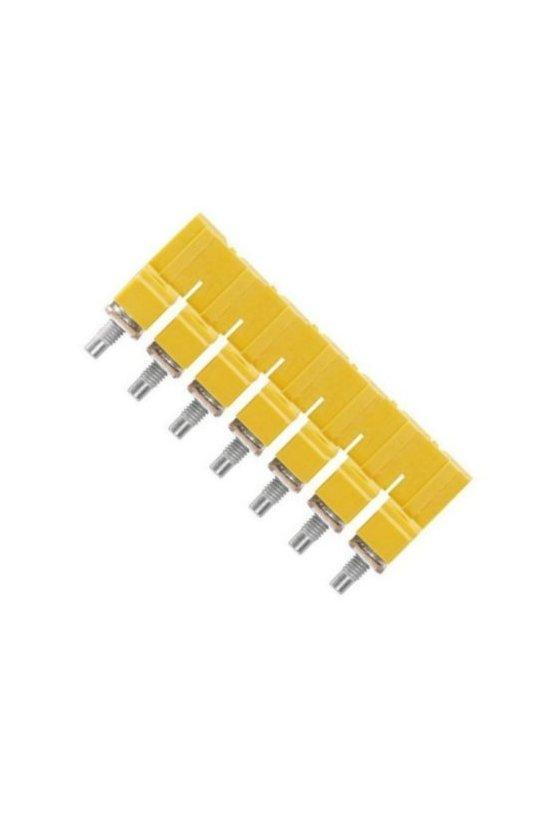 1062680000 Serie W, Conexión transversal, para bornes, Número de polos: 7, WQV 6/7