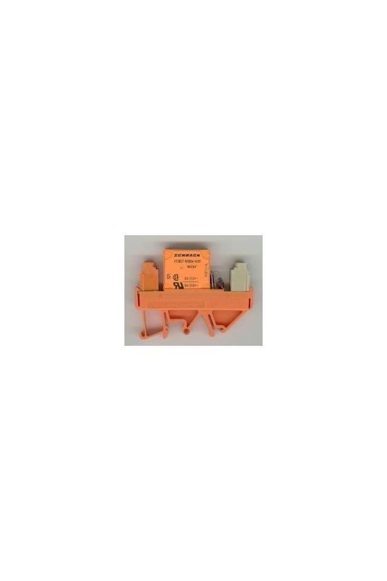 1101661001 Módulo de relé, Número de contactos: 1 Contacto normalmente abierto AgNi 0,15 dorado, RS 30 24VDC LP 1A