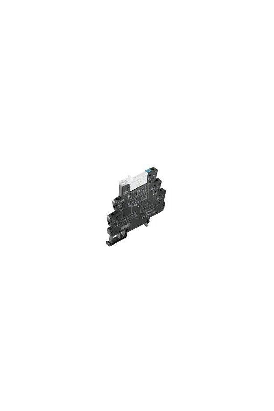 1122740000 TERMSERIES, Módulo de relé, Tensión de mando nominal: 5 V DC ±20 %, Conexión brida-tornillo, TRS 5VDC 1CO