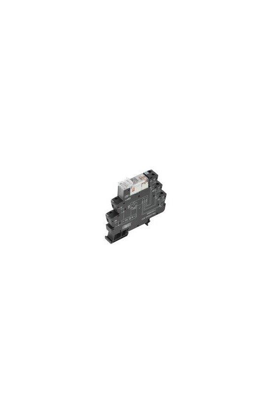 1123850000 TERMSERIES, Módulo de relé, Número de contactos: 2 Contacto conmutado AgNi, TRZ 24VDC 2CO AU
