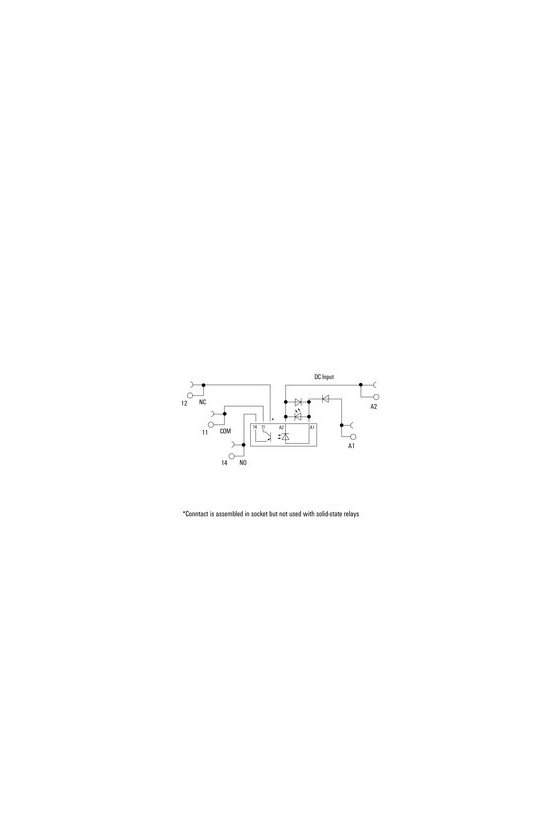 1126950000 TERMSERIES, relés de estado sólido, 1 Contacto normalmente abierto (Transistor bipolar), TOS 24VUC 48VDC0,1A