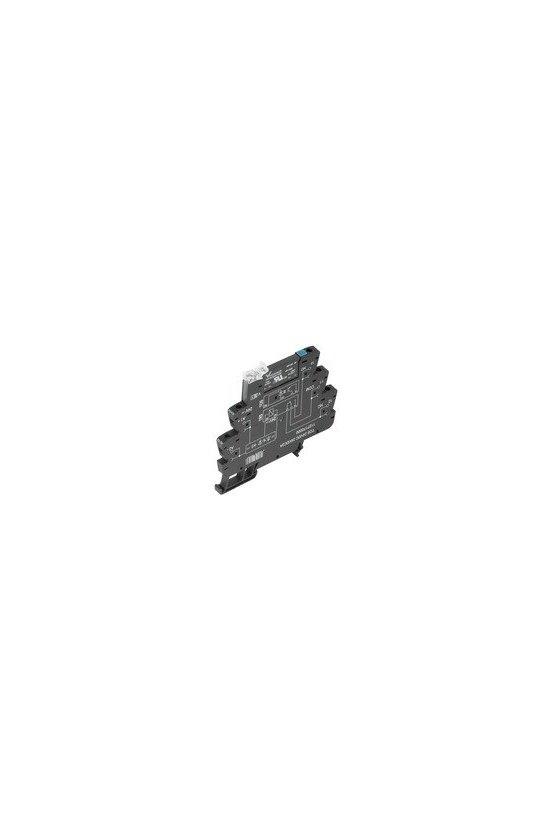 1127630000 TERMSERIES, relés de estado sólido, 1 Contacto normalmente abierto (MOS-FET), TOS 24VDC 24VDC3,5A 12.8mm