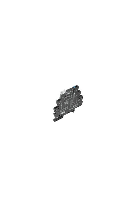 1127680000 TERMSERIES, relés de estado sólido, (TRIAC (interruptor de tensión nula)), TOS 24VDC 230VAC1A