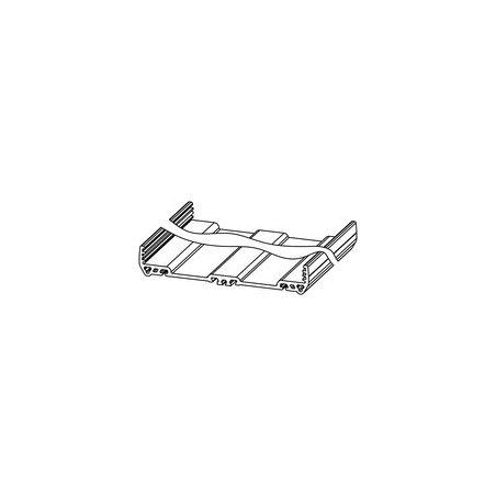1155940000 Carcasas para componentes electrónicos naranja, Perfil extruido, Anchura: 127, PF RS 122 OR 2000MM