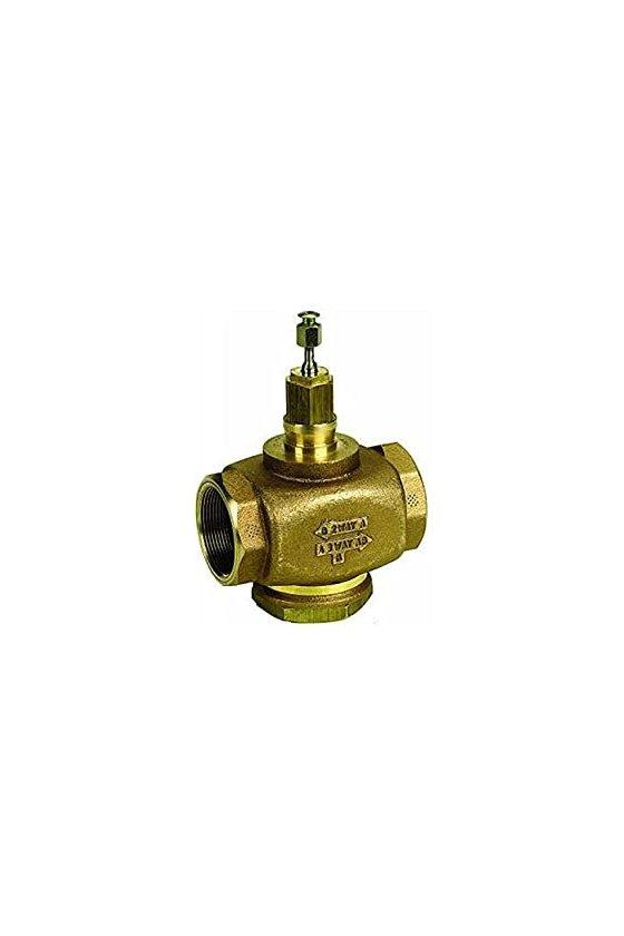 V5011N2048  bidireccional, globo, 1/2 pulgadas, tnp (hembra), 4.7 cv, agua o glicol o vapor