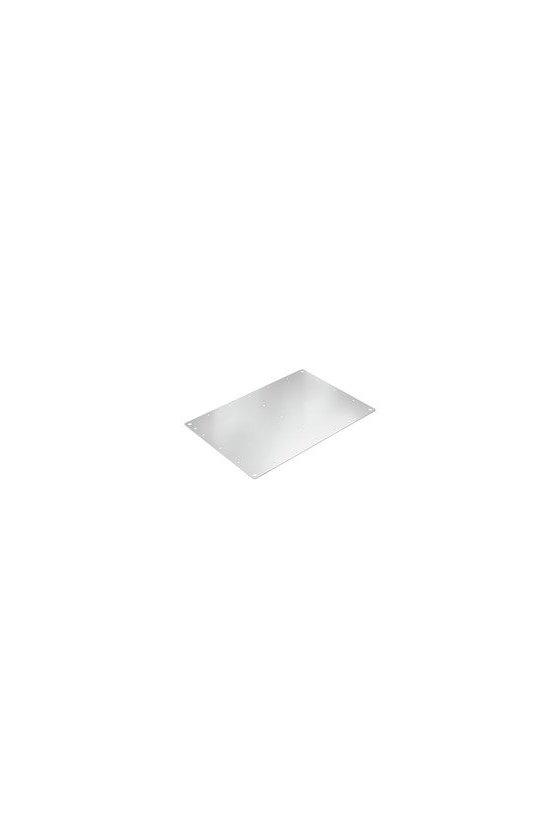 1193970000 Klippon TB (Terminal Box), Placa de montaje,  Material: Chapa de acero, cincado, plata, KTB MOPL 3526 MSZN
