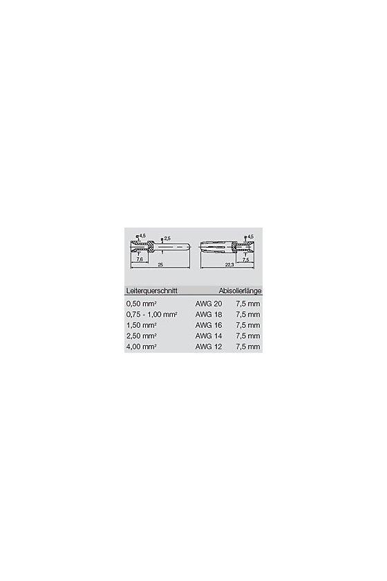 1201200000 Conectores industriales, Contacto crimpado, HE, HEE, HQ, MixMate, Hembra, HDC-C-HE-BM0.75-1.00AG
