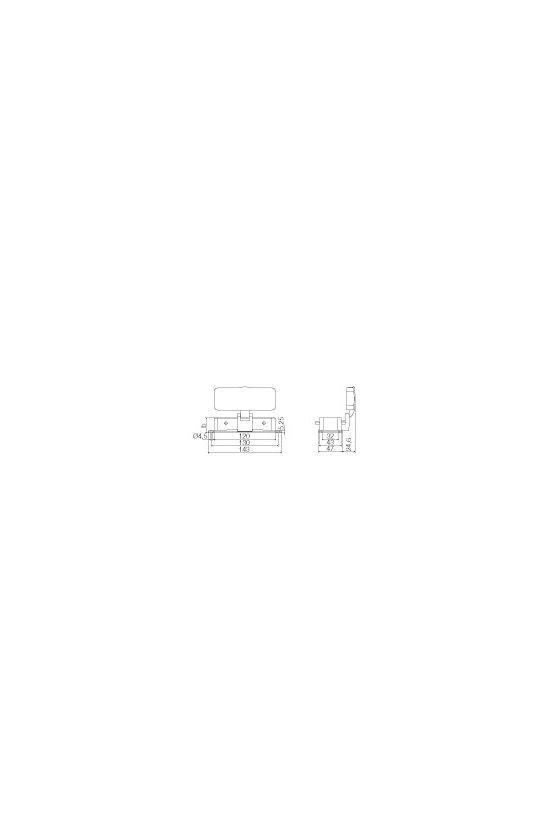 1213300000 Base abierta, Enclavamiento lateral en la parte superior, Estándar, con tapa, HDC 24B ADBO