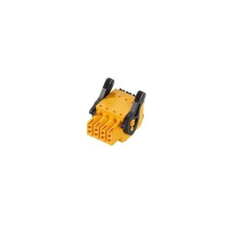 1278300000 Conector para placa c.i., enchufe hembra, 3.50 mm, Número de polos: 18, 180°, PUSH IN, B2CF 3.50/18/180LR SN BK BX