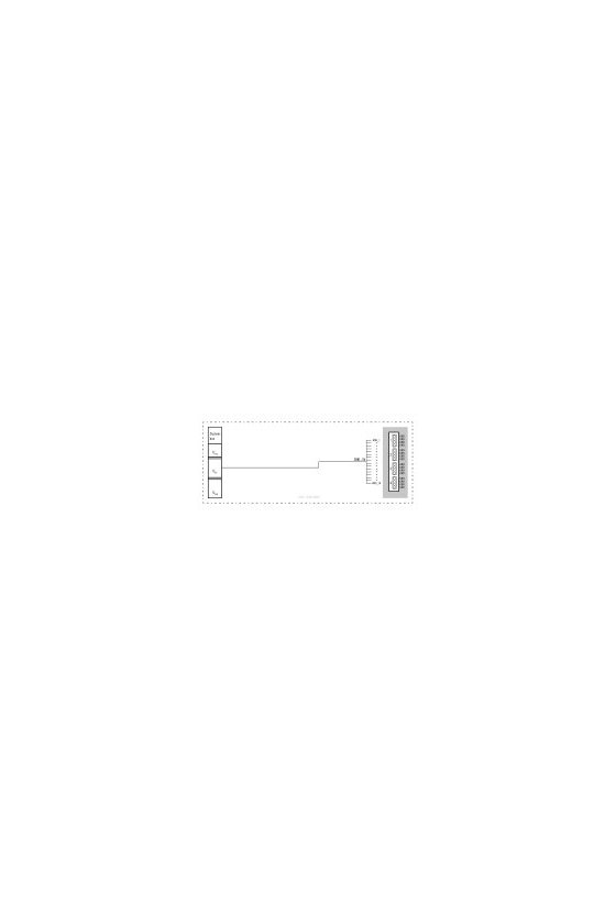 1334800000 Módulo de E/S remoto, IP20, Distribuidor de potencial, UR20-16AUX-GND-I