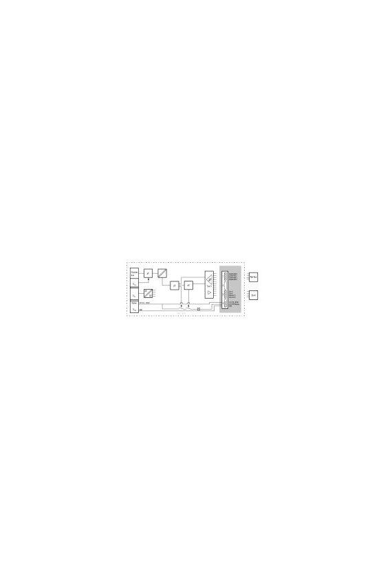 1335030000 Módulo de E/S remoto, IP20, Seguridad, Fuente de alimentación SIL, UR20-PF-O-1DI-SIL