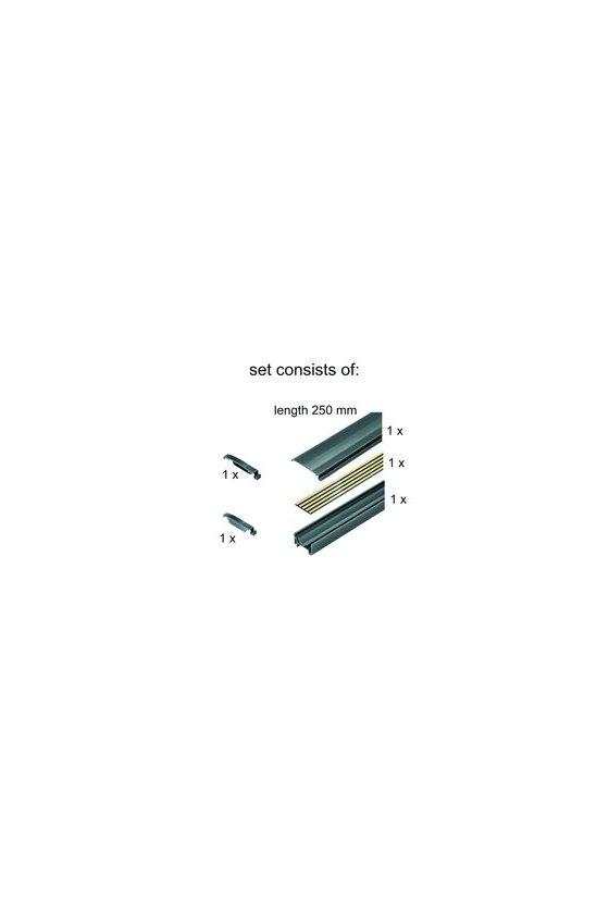 1335150000 OMNIMATE Housing - Serie CH20M, Longitud: 250 mm, Anchura: 25.1 mm, SET CH20M BUS 250MM TS 35X15