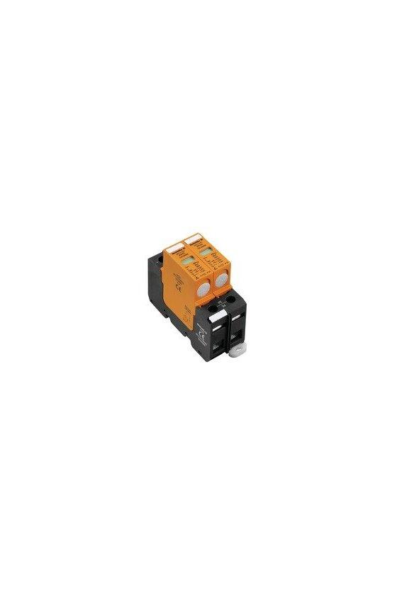1351340000 Descargador de sobretensión, Baja tensión, 600 V, sin contacto de aviso remoto, VPU II 2 PV 600V DC