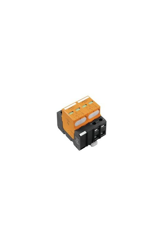 1351640000 Descargador de sobretensión, Baja tensión, Sin corriente de fuga, Monofásico, VPU I 2 LCF 280V/25KA