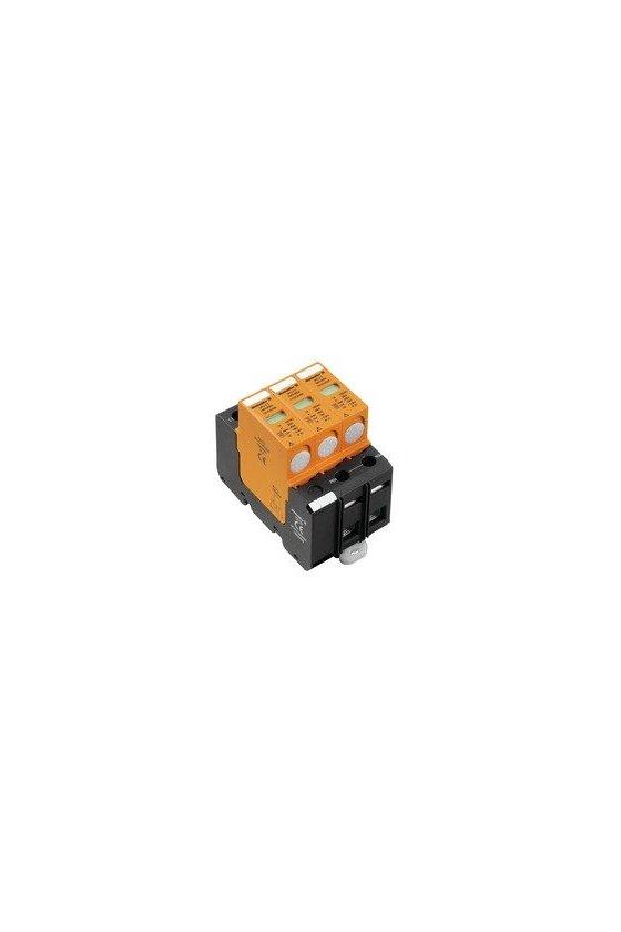 1352700000 Descargador de sobretensión, Baja tensión, sin contacto de aviso remoto, TN-C, IT sin N, VPU II 3 280V/40KA