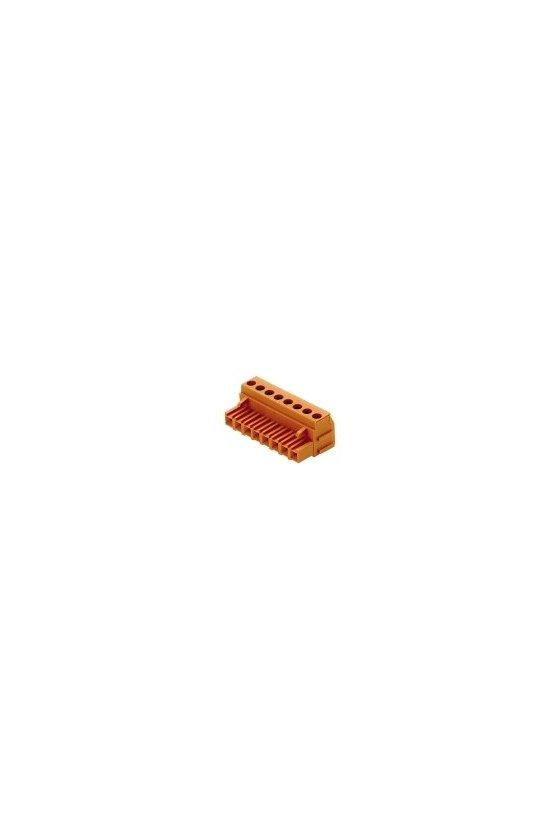 1356060000 Conector para placa c.i., enchufe hembra, Sección de embornado, máx. : 3.32 mm², Caja, BLA 2B SN OR