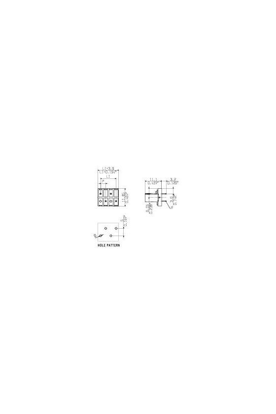 1376330000 Conector para placa c.i., Conector hembra,  Número de polos: 4,  estañado, naranja, Tube, BLL 3.50/04/180 3.2SN OR TU