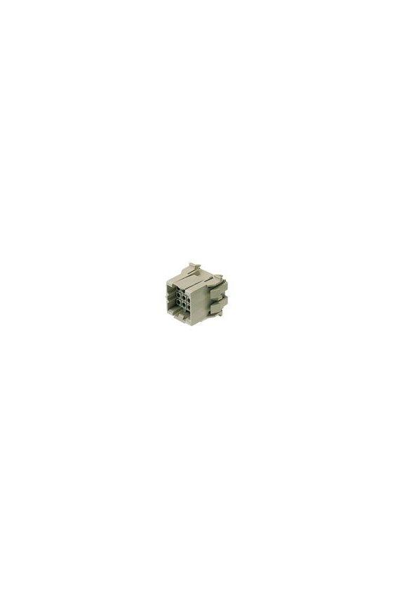 1416100000 Conector para placa c.i., clavija macho, 5.00 mm, Número de polos: 12, CAJA, RSV1,6 S12 GR