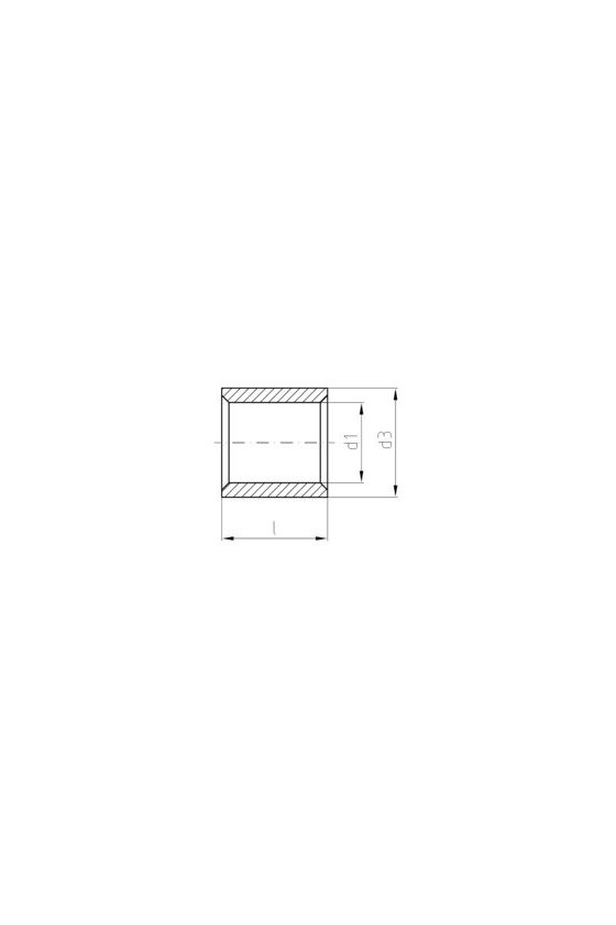 1492910000 Terminale planos, 25 mm², 25 mm², VPLN/-25