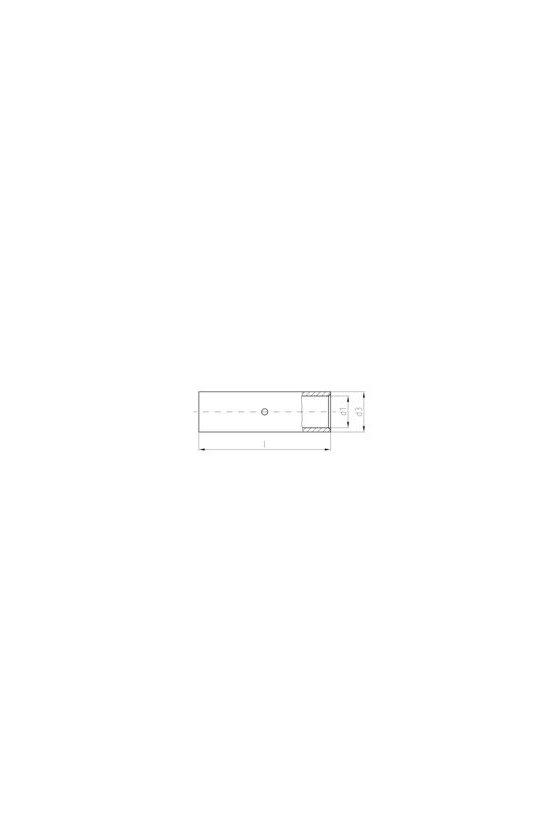1498620000 Terminale planos, 10 mm², TERMINAL TUBULAR 10MM2, (100PZ), VPN/-10