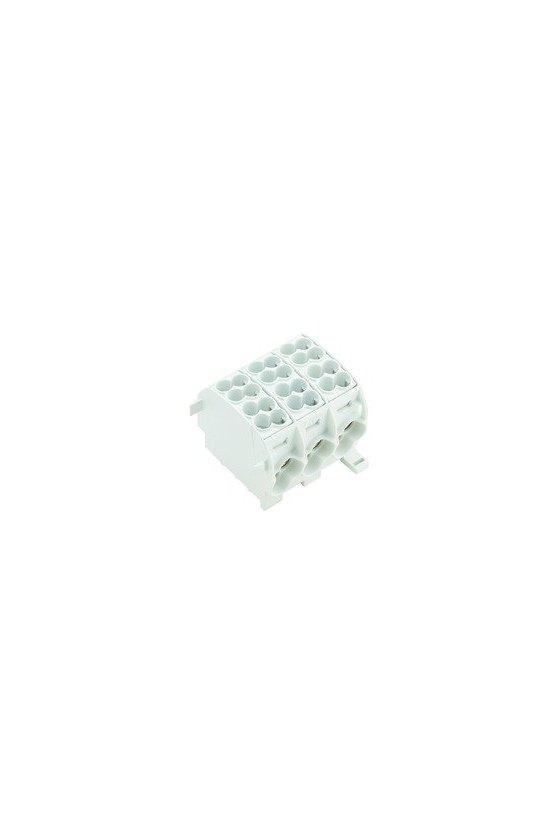 1561130000 Serie W, Bloque de distribución, Sección nominal: Conexión brida-tornillo, WPD 301 2X25/2X16 3XGY