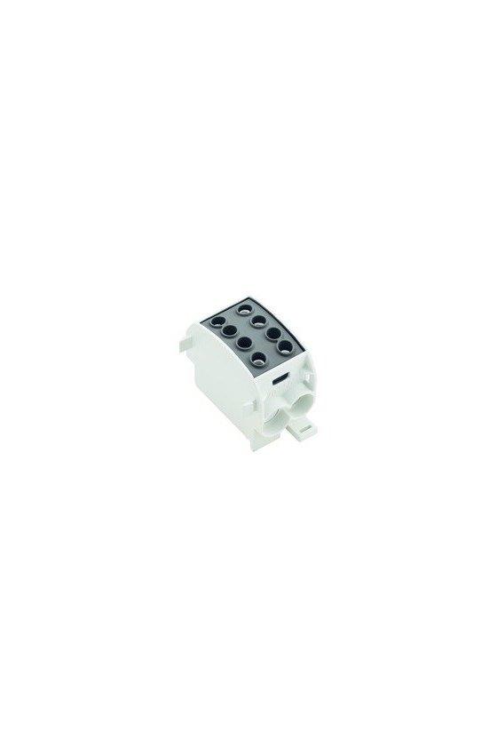 1561830000 Serie W, Bloque de distribución, Sección nominal: Conexión brida-tornillo, WPD 103 2X70/2X50 BK