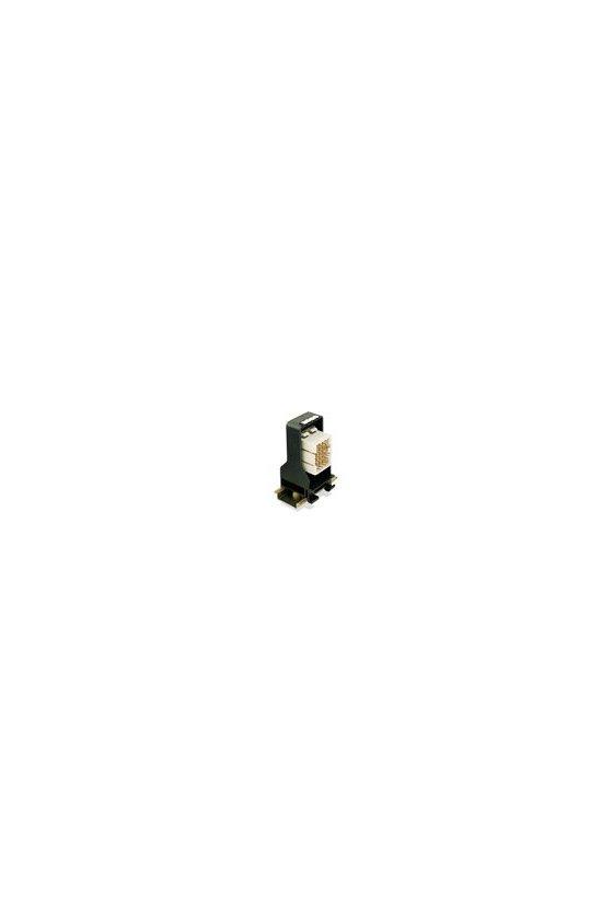 1582970000 Conector para placa c.i., Accesorios, Pie de enclavamiento, negro, Número de polos: 36, SV1,6 RF36/35x7.5 SW